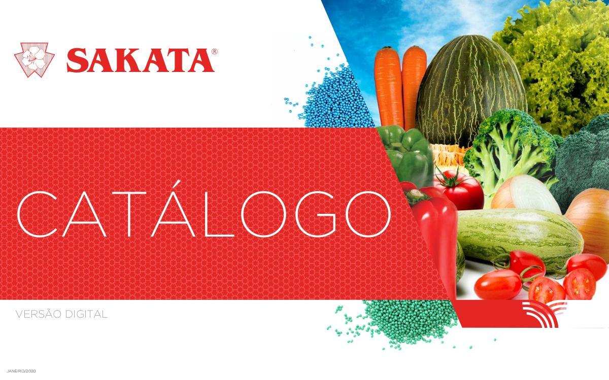 Catálogo de Hortaliças - 2020