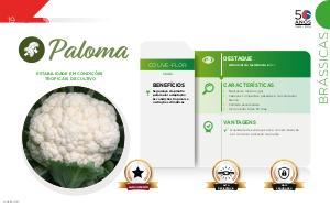 Paloma - Brássicas