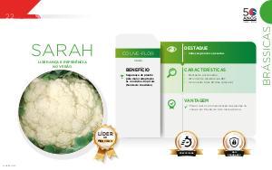 Sarah - Brássicas