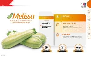 Melissa - Cucurbitáceas