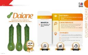 Daiane - Cucurbitáceas