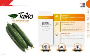 Taiko - Cucurbitáceas