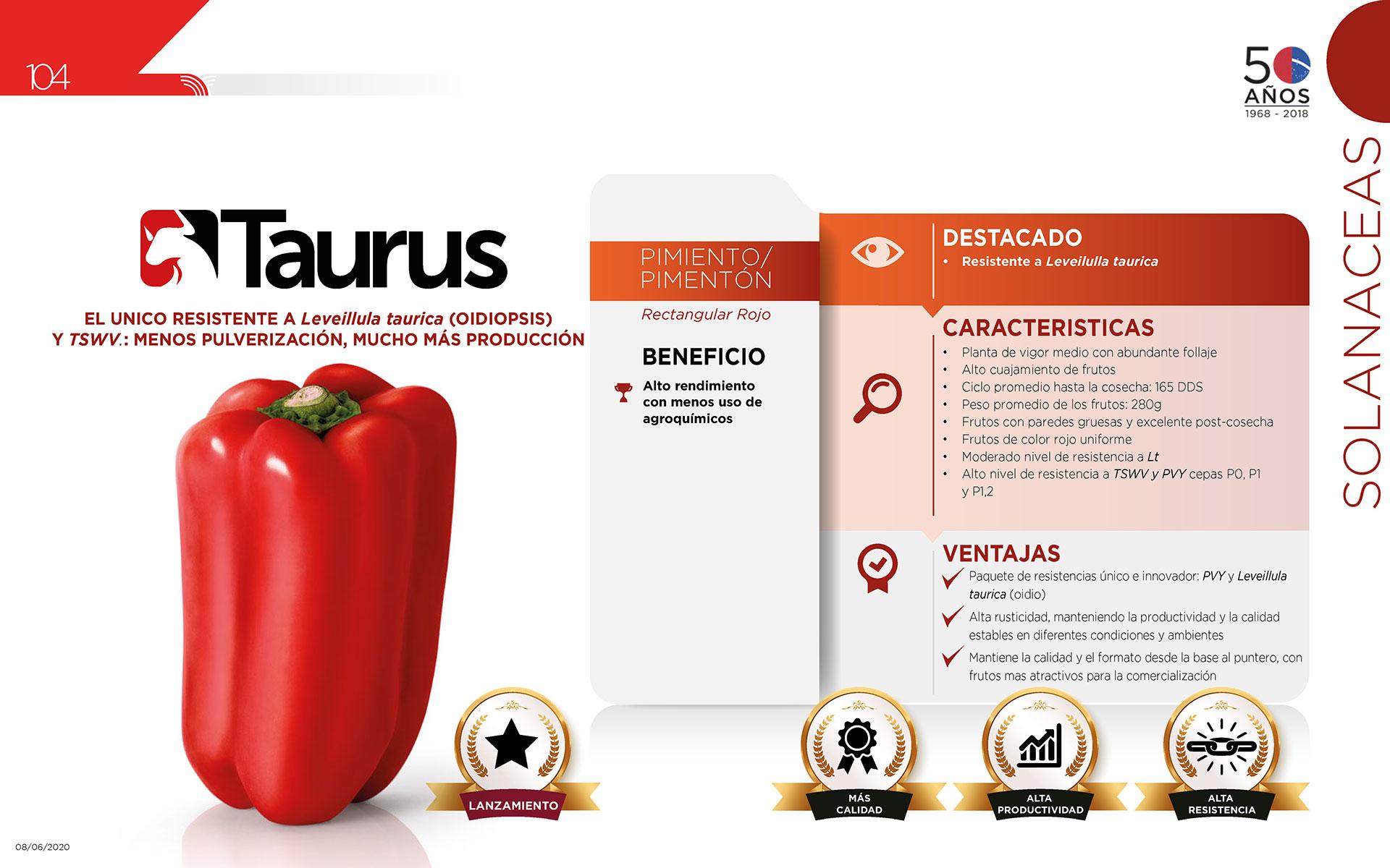 Taurus - Solanaceas