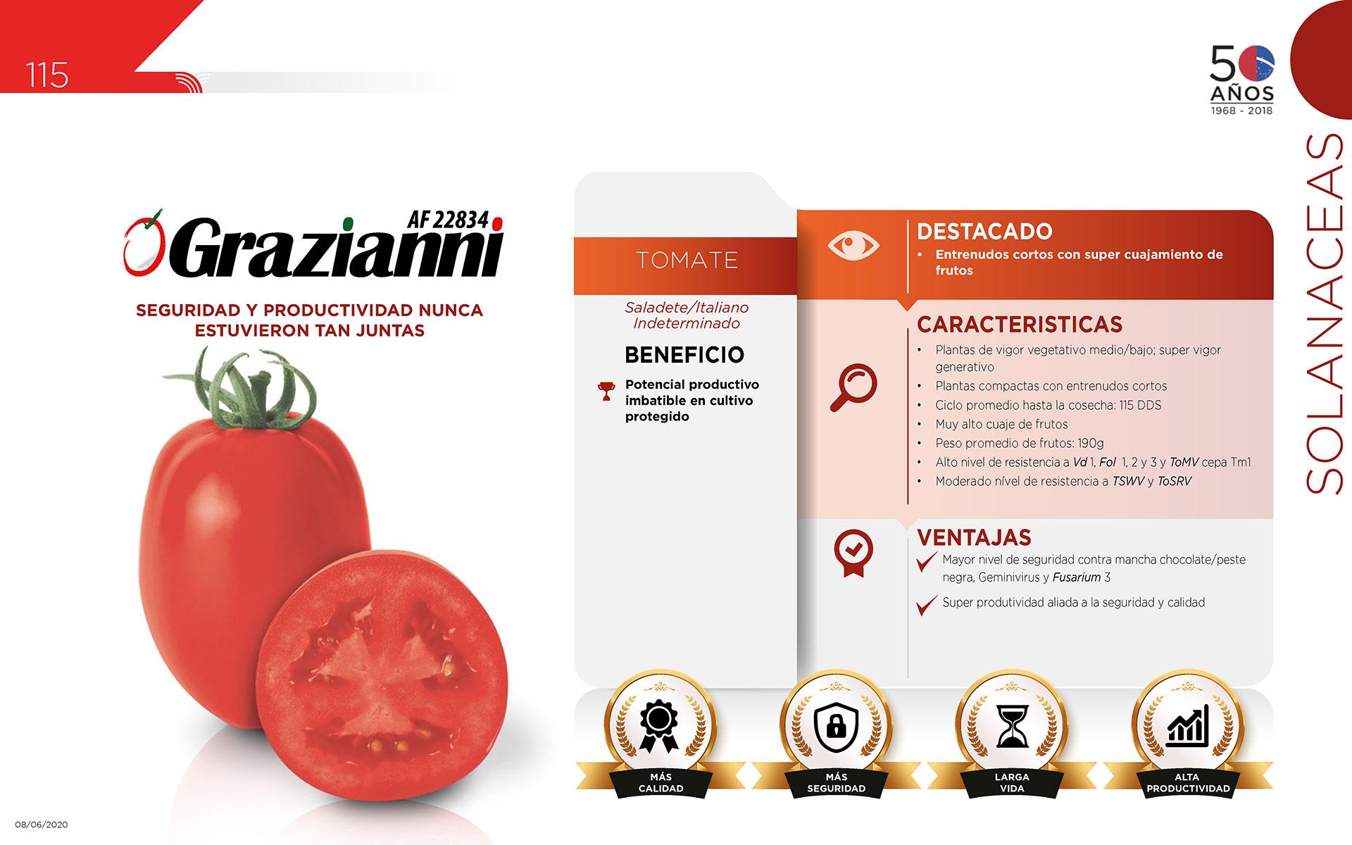 Grazianni - Solanaceas