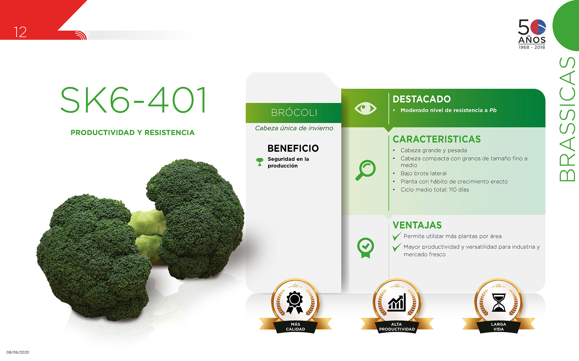 SK6-401 - Brassicas