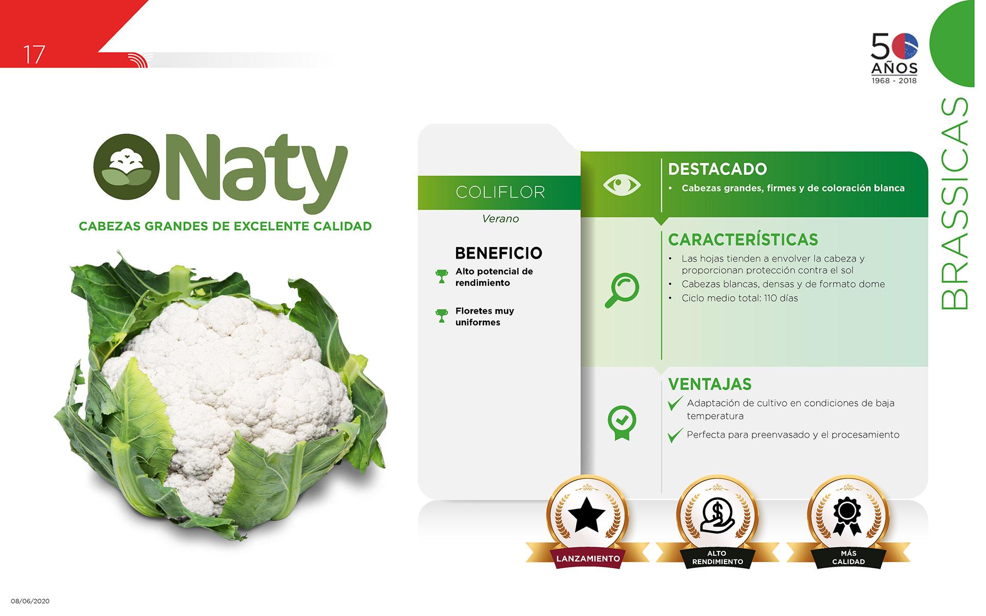 Naty - Brassicas