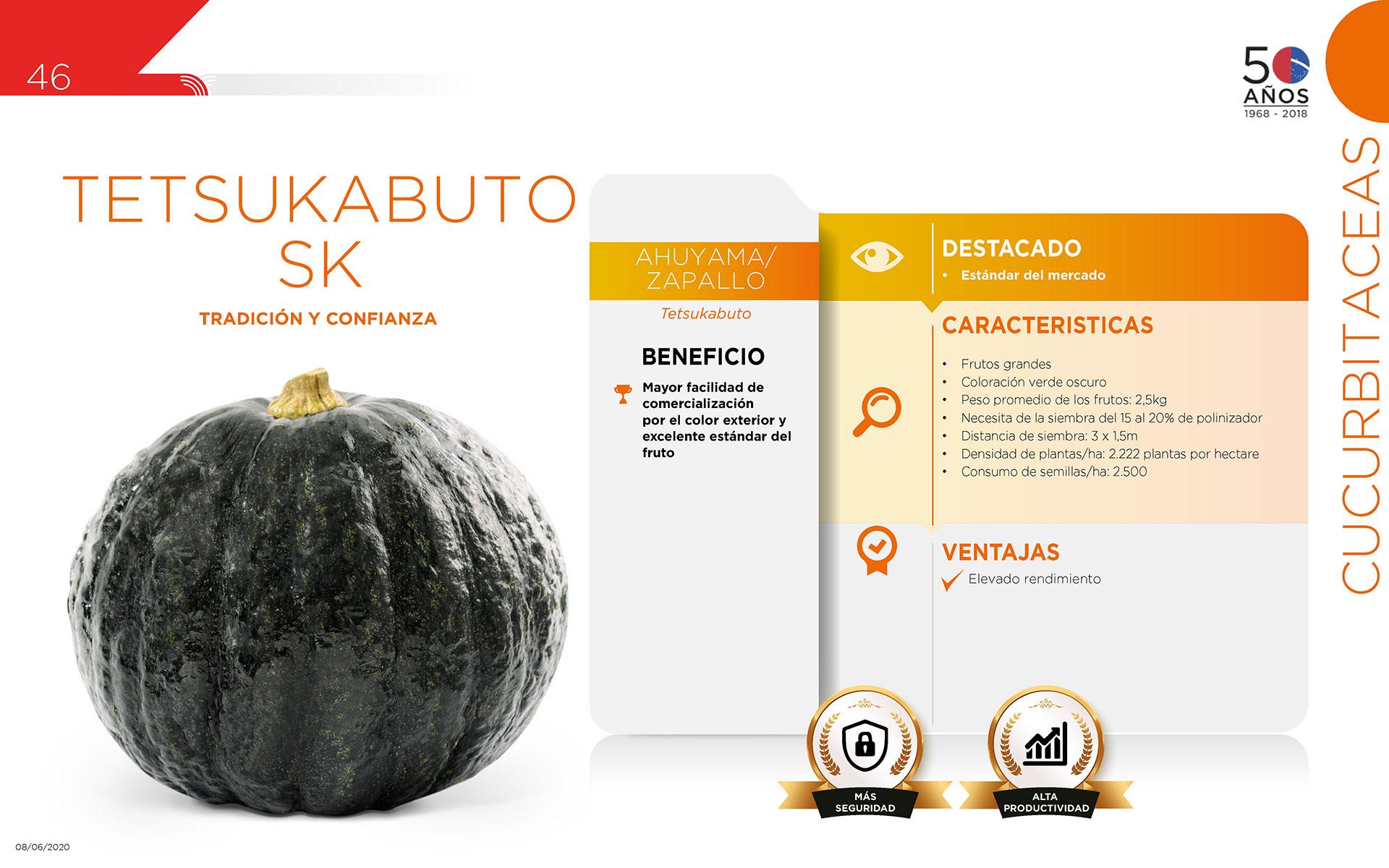 Tetsukabuto  SK - Cucurbitaceas