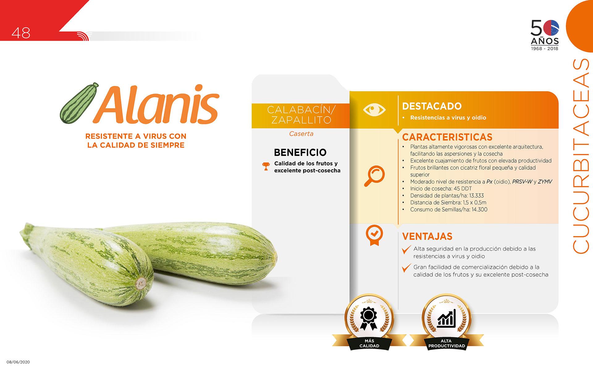 Alanis - Cucurbitaceas