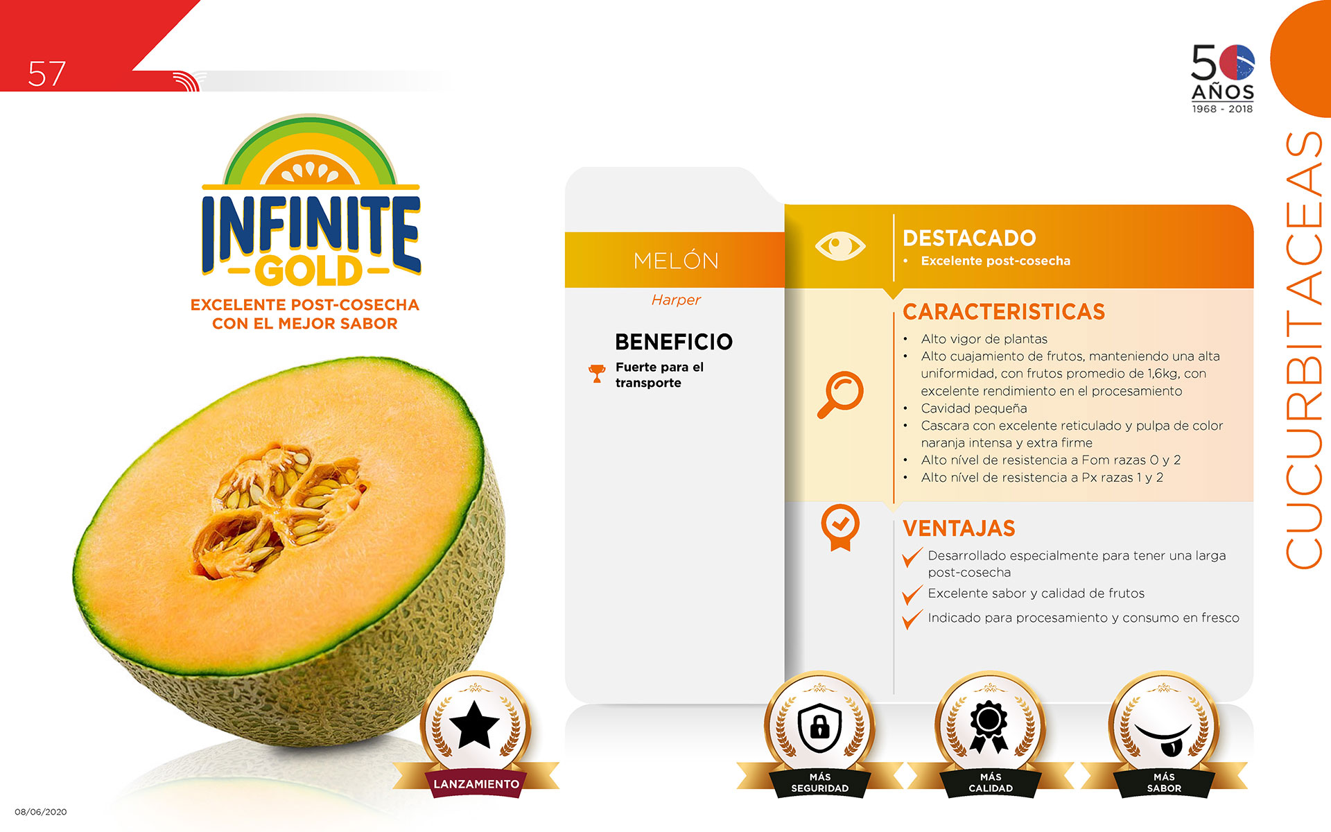 Infinite Gold - Cucurbitaceas
