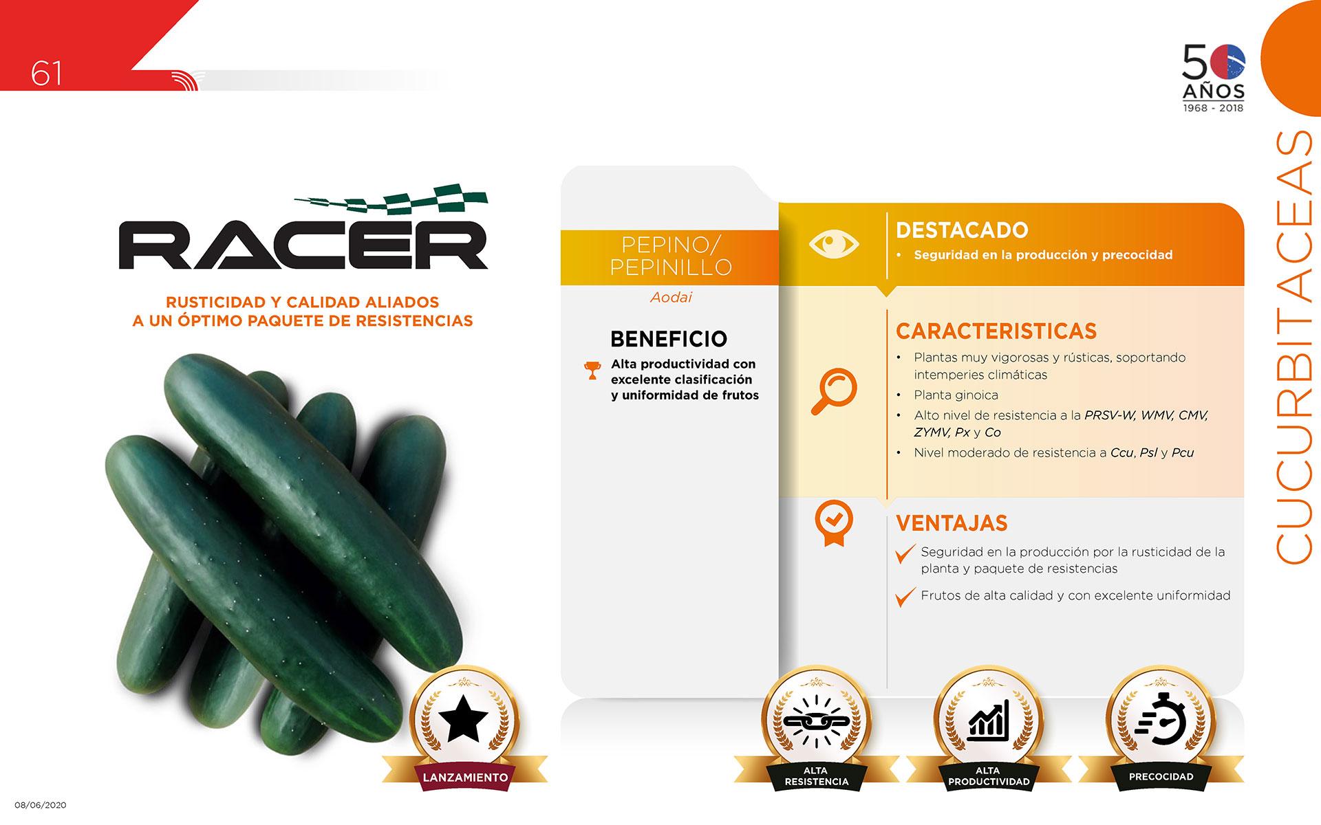 Racer - Cucurbitaceas