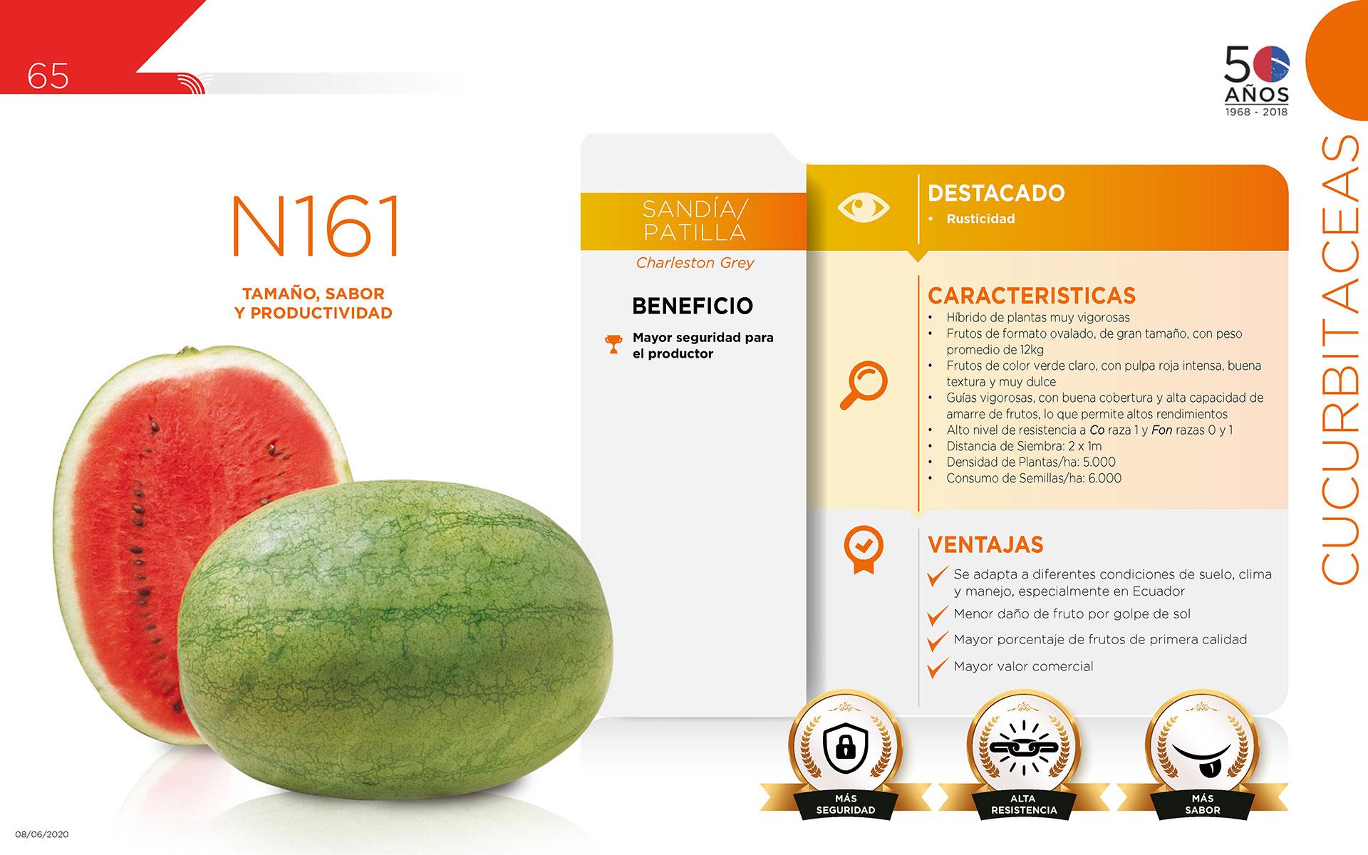 N161 - Cucurbitaceas