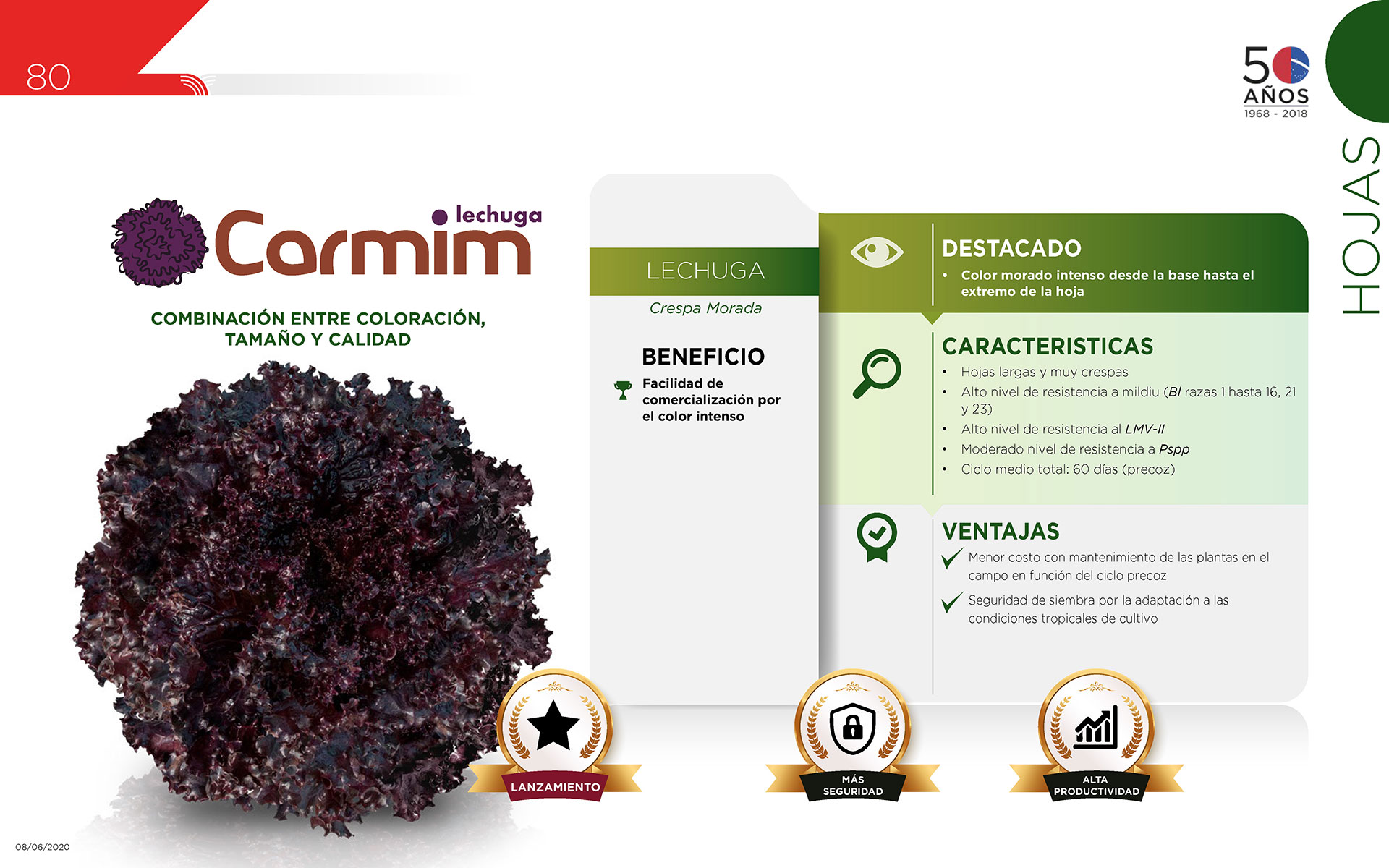 Carmim - Hojas